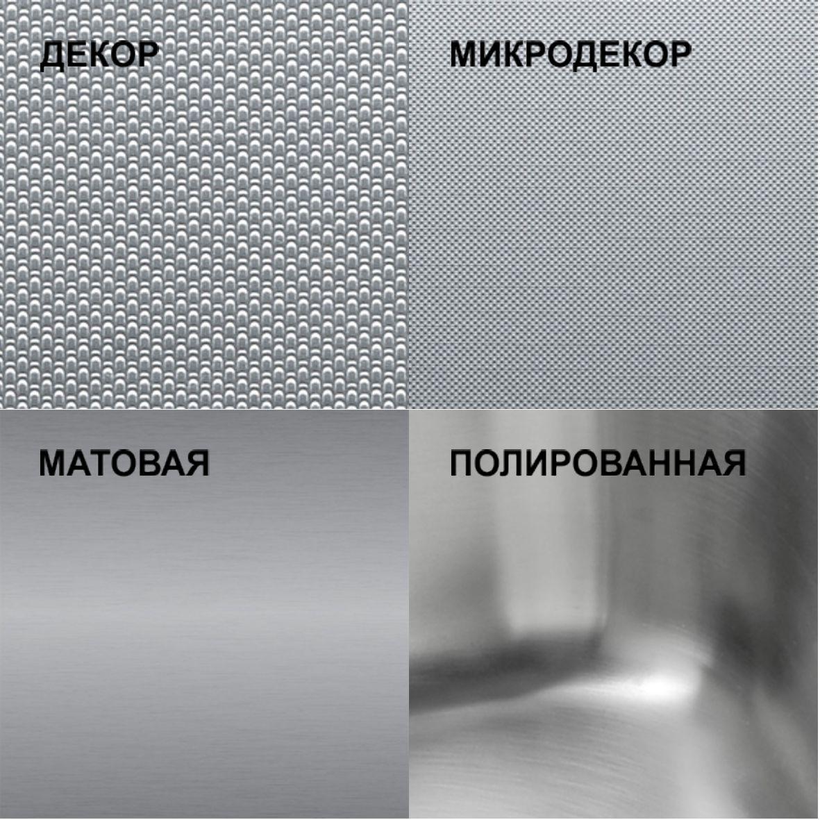 Вид поверхности